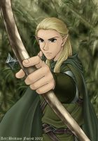 Legolas Greenleaf by Saehral