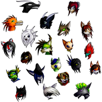 :GT: Tons of portraits by Diaminerre