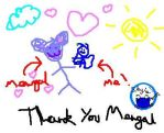 Thank you Mewgal by Skyle