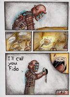Dead Space Isaacs pet . page 2 by fox-xy