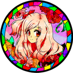 On the Stained Glass by Rikuharuka