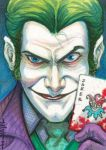 Sketchcard: The Joker by Everwho