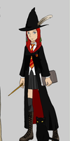 Maggie Hogwarts by perry321