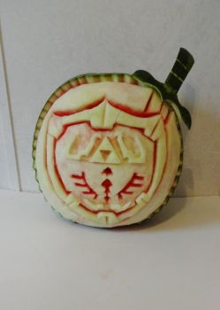 Zelda Watermelon Carving by Stephanefalies