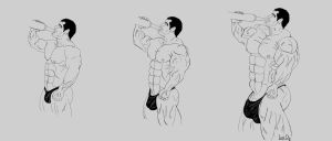 Muscle Growth Formula Pump, keep drinking by Leo-DE