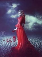 Red Lady by IgnisSouls