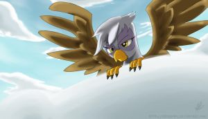 Watching you like a hawk by NolyCS