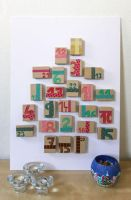 DIY Advent Calendar by PetitPlat