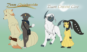 Team Quickstride and Crescent Core by MiaMaha