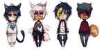 4 patch chibi [commission] by KuroHitsujiSama