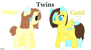 Twins by Kittyguau89