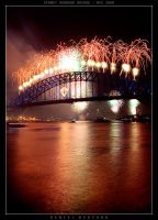 Another Sydney NYE shot by geeewocka