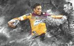 Justin Hodges Wallpaper by skythlee