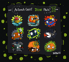 'Antenna-Cheese Icon Pack 2' by ButzboPrud