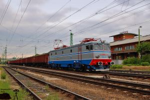 40 0076-6 with freight in Gyor by morpheus880223
