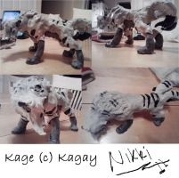 Kage Sculpture by Sharks-want-HUGS