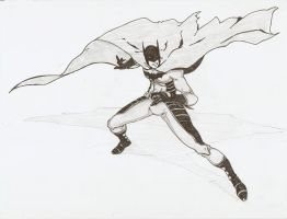 batman sketch by pain16