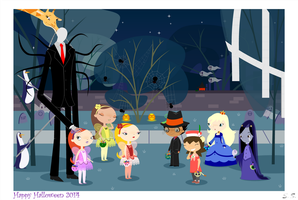 Happy Halloween 2014 by silver-soldier