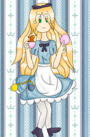 A wild Alice appeared by Link-Pikachu