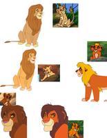 DWoW lion adoptables from game  by LOST09