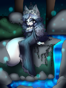 .:CM:. Crying in the Woods by Yukidog674