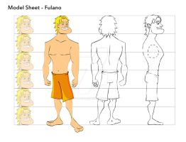 ModelSheet Character by geovanialdrighi