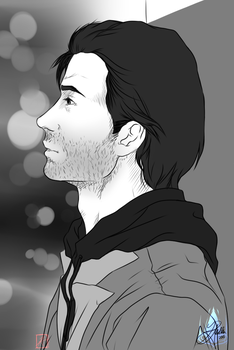 Alan Wake Side by InvisibleRainArt
