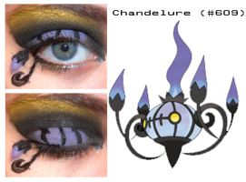 Pokemakeup 609 Chandelure by nazzara