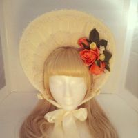 Ivory Bonnet by sweetmildred