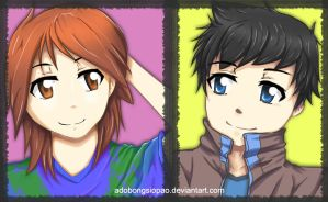 .:New OCs :. by adobongsiopao
