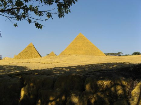 I was not at the pyramids by ParangBoi