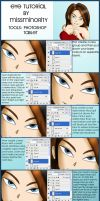 Eye Colour Tutorial by MissMinority