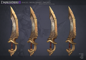 DS2: Angel Merchant Sword 1 by MissMaddyTaylor