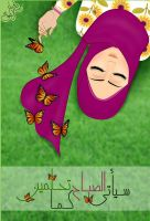 A Dreaming Girl  Helm :) by AlyaaSabbagh