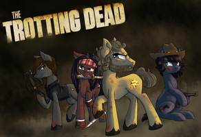Trotting Dead by Pon3Splash