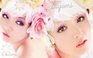 Wall Sayumi White ver. 3 by RainboWxMikA