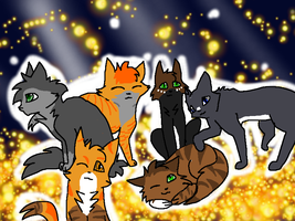 The Cats of On Our Own .:Commish:. by Saejay