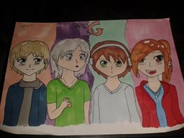The Baywich Gamers - Fanart by Kittylover118