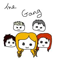 The gang by Bexgirl2803