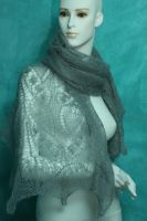 shawl knitting lace by basia-hs