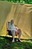 2015-06-10 Beach Chair Poses 45 by skydancer-stock