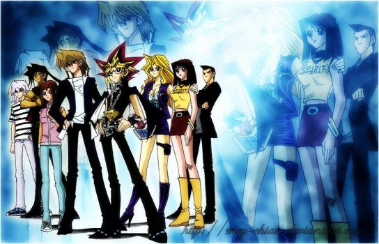 Yu-Gi-Oh -Duelists and Friends by Mey-chian