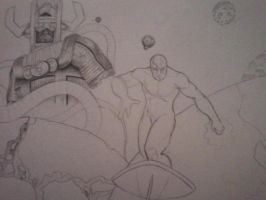 Silver Surfer wip by meruy