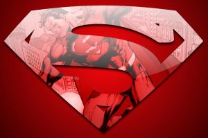 Simplistic Superman by cotrackguy