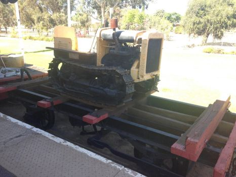 Merridin Railway Museum - Terence the Tractor by The-ARC-Minister
