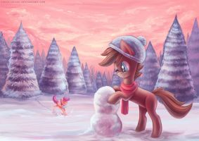 Com: Snowball by erovoid