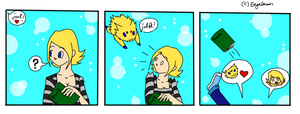joltik loves me by Engelmoon
