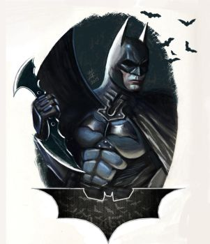 Batman by GrayAppleWantsHerBB