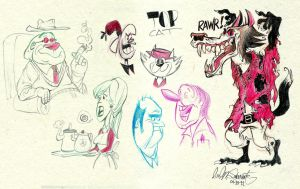 Sketch Bunch 34 by luismario