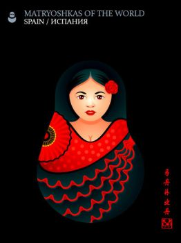 Matryoshka Spain by sahua